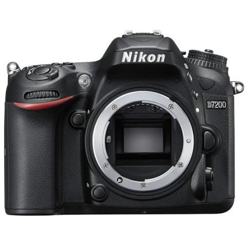 Купить фотоаппарат зеркальный Nikon D7200 Body (10007805) в Москве, в Спб и в России