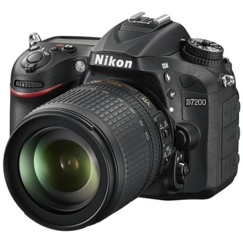 Фотография товара фотоаппарат зеркальный Nikon D7200 18-105 VR Kit (10007806)
