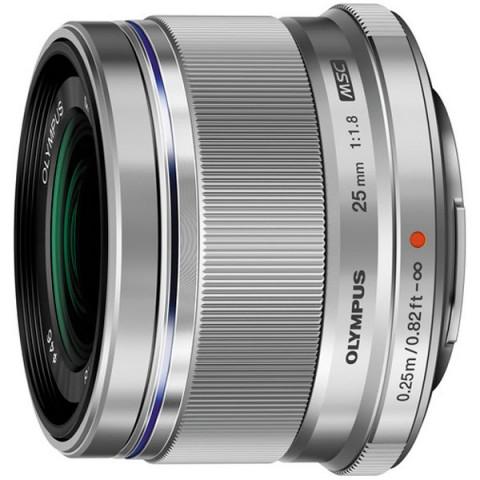 Фотография товара объектив Olympus 25mm f/1.8 Silver (10008085)