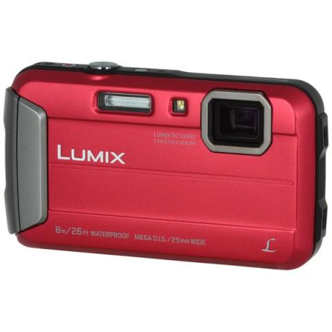 Фотография товара фотоаппарат компактный Panasonic Lumix DMC-FT30 Red (10008215)