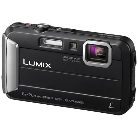Фотография товара фотоаппарат компактный Panasonic Lumix DMC-FT30 Black (10008216)