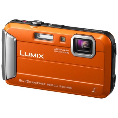 Фотография товара фотоаппарат компактный Panasonic Lumix DMC-FT30 Orange (10008217)