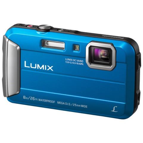 Фотография товара фотоаппарат компактный Panasonic Lumix DMC-FT30 Blue (10008218)
