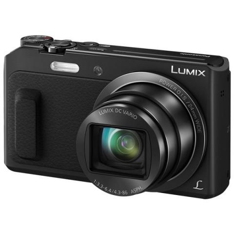 Фотография товара фотоаппарат компактный Panasonic Lumix DMC-TZ57 Black (10008219)
