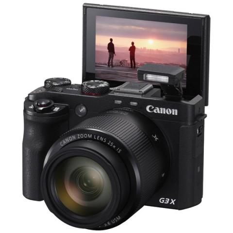 Фотография товара фотоаппарат компактный премиум Canon Power Shot G3 X Black (10008224)