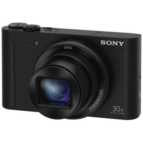 Фотография товара фотоаппарат компактный Sony CyberShot HX90 Black (10008228)