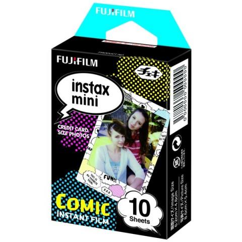 Фотография товара картридж для фотоаппарата Fujifilm Colorfilm Instax Mini Comic WW1 10/PK (10008230)
