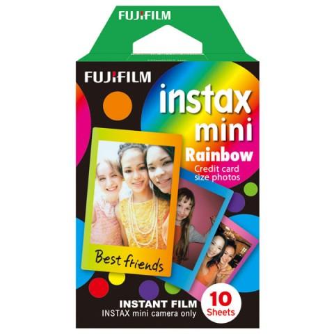 Фотография товара картридж для фотоаппарата Fujifilm Colorfilm Instax Mini Rainbow WW1 10/PK (10008233)