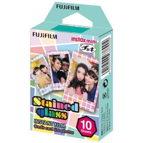 Фотография товара картридж для фотоаппарата Fujifilm Instax Mini Stained glass 1 10/PK (10008235)