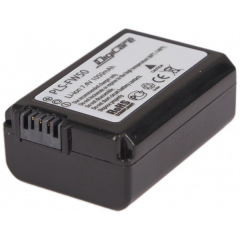Фотография товара аккумулятор для цифрового фотоаппарата DigiCare PLS-FW50 (10008270)
