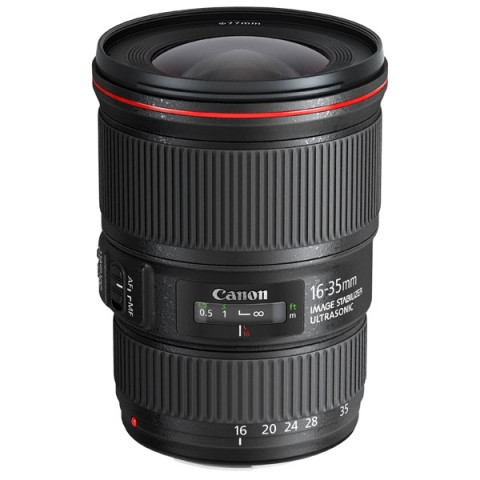 Фотография товара объектив Canon EF 16-35mm f/4L IS USM (10008329)