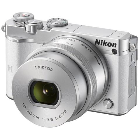 Фотография товара фотоаппарат системный Nikon 1 J5 Kit White (10008343)