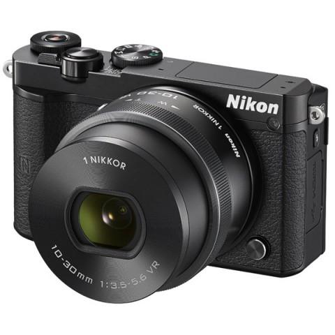 Фотография товара фотоаппарат системный Nikon 1 J5 Kit Black (10008344)