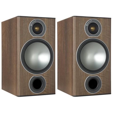 Фотография товара полочные колонки Monitor Audio Bronze 2 Walnut (10008374)