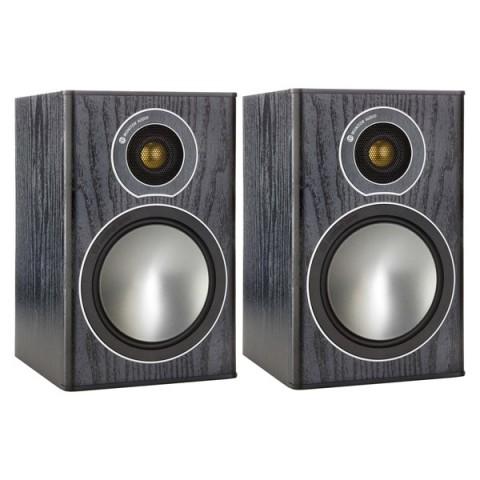 Фотография товара полочные колонки Monitor Audio Bronze 1 Black Oak (10008392)