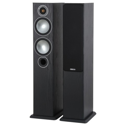 Фотография товара напольные колонки Monitor Audio Bronze 5 Black Oak (10008403)