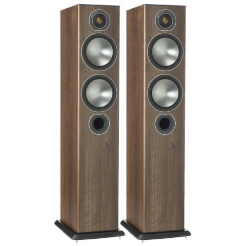 Фотография товара напольные колонки Monitor Audio Bronze 5 Walnut (10008404)
