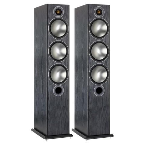 Фотография товара напольные колонки Monitor Audio Bronze 6 Black Oak (10008406)