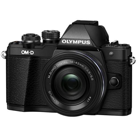 Фотография товара фотоаппарат системный Olympus OM-D E-M10 Mark II Pancake Zoom Kit 14-42EZ Black (10008647)