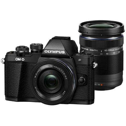 Фотография товара фотоаппарат системный Olympus OM-D E-M10 Mark II Kit Black + 40-150mm Black (10008648)