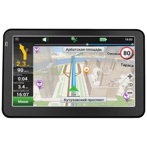 Фотография товара портативный GPS-навигатор Prestigio GeoVision 5058 Navitel (10008719)