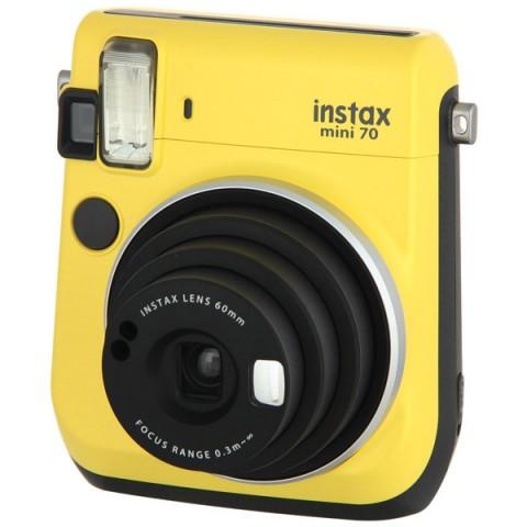 Фотография товара фотоаппарат моментальной печати Fujifilm Instax Mini 70 Yellow (10008774)