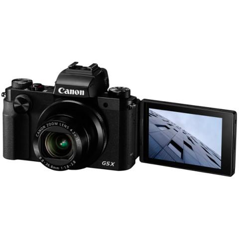 Фотография товара фотоаппарат компактный премиум Canon PowerShot G5 X Black (10008830)