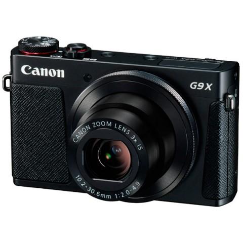 Фотография товара фотоаппарат компактный премиум Canon PowerShot G9 X Black (10008831)