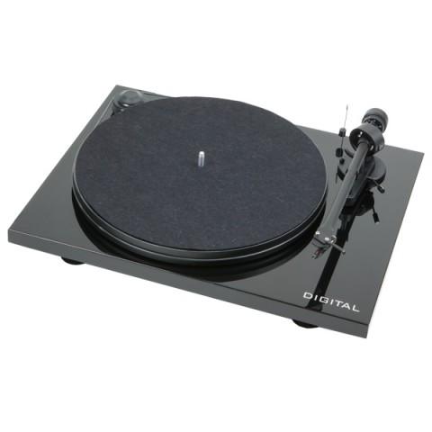 Фотография товара проигрыватель виниловых дисков Pro-Ject Essential II Digital Piano (10008850)