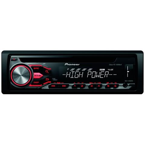 Фотография товара автомобильная магнитола с CD MP3 Pioneer DEH-4800FD (10008852)