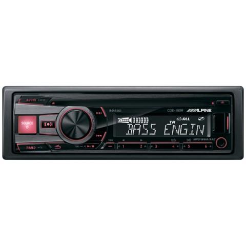 Фотография товара автомобильная магнитола с CD MP3 Alpine CDE-190R (10008964)