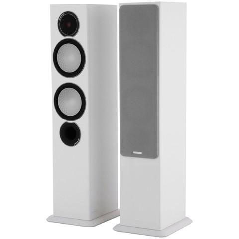 Фотография товара напольные колонки Monitor Audio Silver 6 White Gloss (10009217)