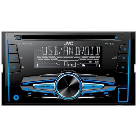 Фотография товара автомобильная магнитола с CD MP3 JVC KW-R520 (10009330)