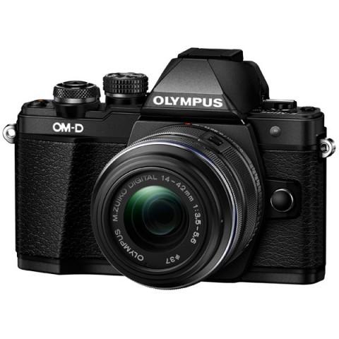 Фотография товара фотоаппарат системный Olympus OM-D E-M10 Mark II 14-42 II R Black (10009373)