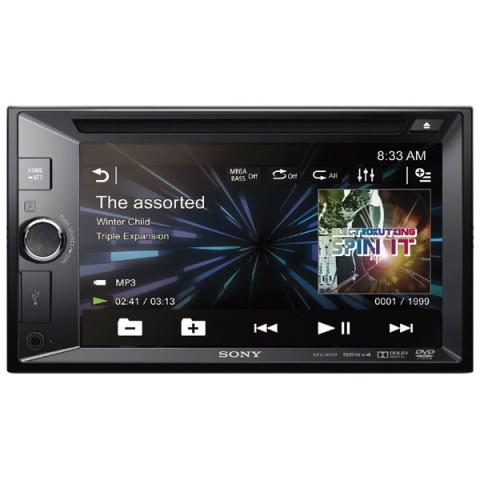 Фотография товара автомобильная магнитола с DVD + монитор Sony XAV-W600//C (10009419)