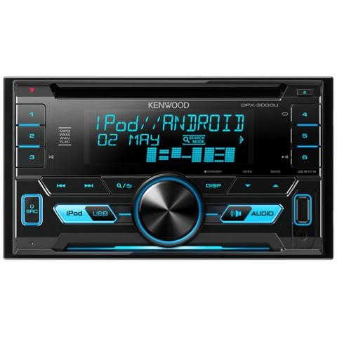 Фотография товара автомобильная магнитола с CD MP3 Kenwood DPX-3000U (10009521)