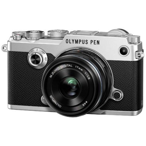 Фотография товара фотоаппарат системный премиум Olympus PEN-F Silver + 17mm Black Kit (10009530)