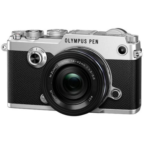 Фотография товара фотоаппарат системный премиум Olympus PEN-F Silver + 14-42mm Black Kit (10009531)