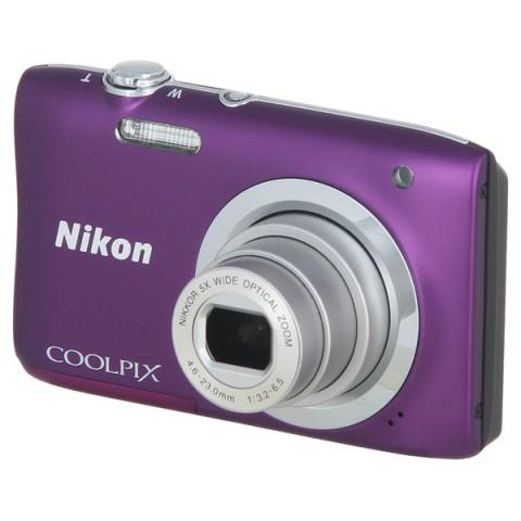 Фотография товара фотоаппарат компактный Nikon Coolpix A100 Purple (10009582)