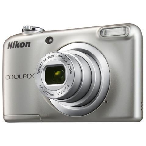 Фотография товара фотоаппарат компактный Nikon Coolpix A10 Silver (10009585)