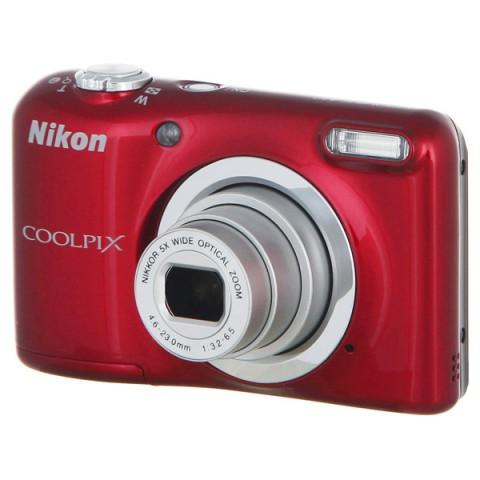 Фотография товара фотоаппарат компактный Nikon Coolpix A10 Red (10009586)