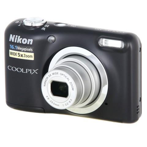 Фотография товара фотоаппарат компактный Nikon Coolpix A10 Black (10009588)