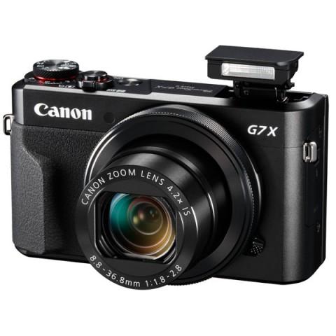 Фотография товара фотоаппарат компактный премиум Canon Power Shot G7 X Mk II Black (10010004)