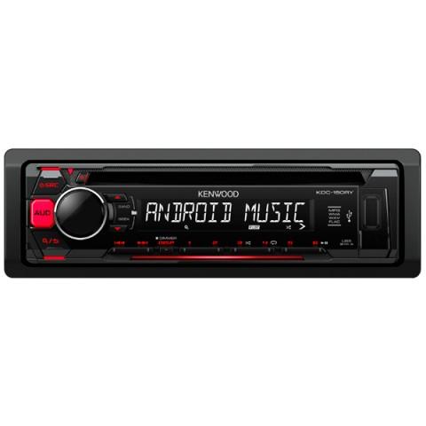 Фотография товара автомобильная магнитола с CD MP3 Kenwood KDC-150RY (10010097)