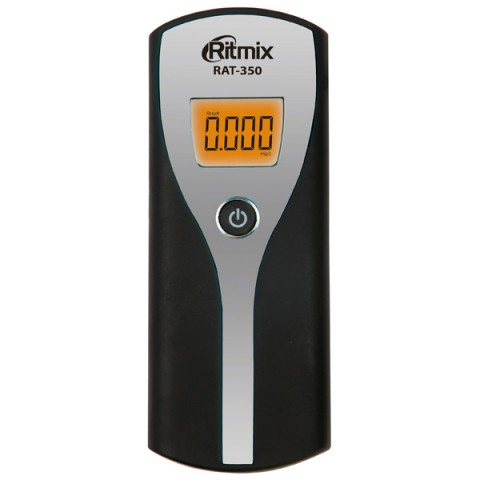 Фотография товара алкотестер Ritmix RAT-350 Silver (10010098)