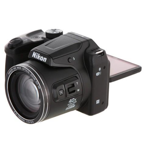 Фотография товара фотоаппарат компактный Nikon Coolpix B500 Black (10010209)