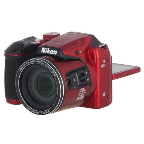 Фотография товара фотоаппарат компактный Nikon Coolpix B500 Red (10010241)