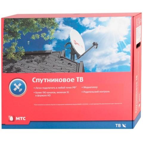 Фотография товара комплект цифрового ТВ МТС с приемником и антенной №62 (год просмотра вкл.) (10010540)