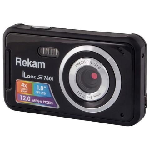 Фотография товара фотоаппарат компактный Rekam iLook S760i Black (10010706)
