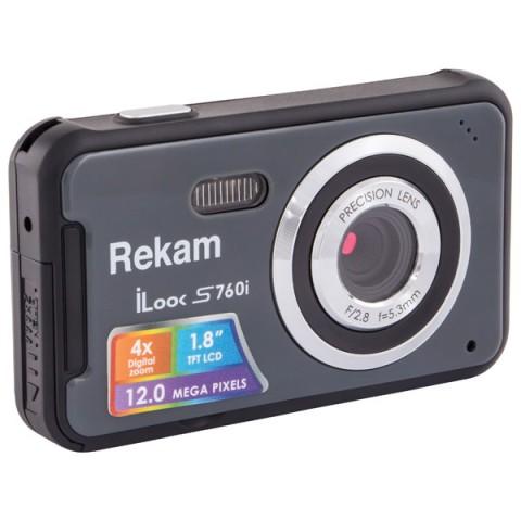 Фотография товара фотоаппарат компактный Rekam iLook S760i Dark Grey (10010707)